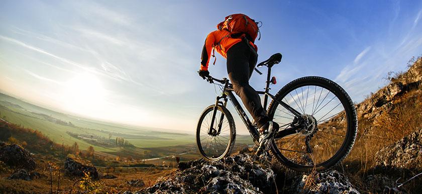 Olika typer av mountainbikes