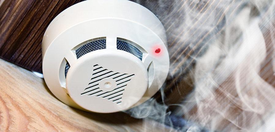 Komplettera med uppkopplad rökdetektor